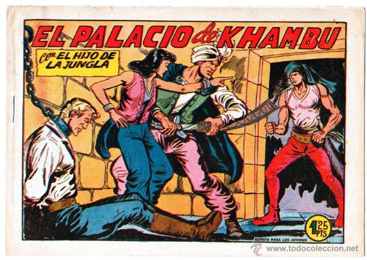 Tebeos: EL HIJO DE LA JUNGLA ORIGINAL EDI. VALENCIANA LOTE DE 21 NºS, VER IMAGENES - Foto 6 - 54698310