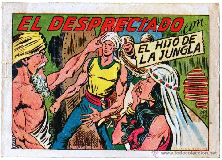 Tebeos: EL HIJO DE LA JUNGLA ORIGINAL EDI. VALENCIANA LOTE DE 21 NºS, VER IMAGENES - Foto 11 - 54698310