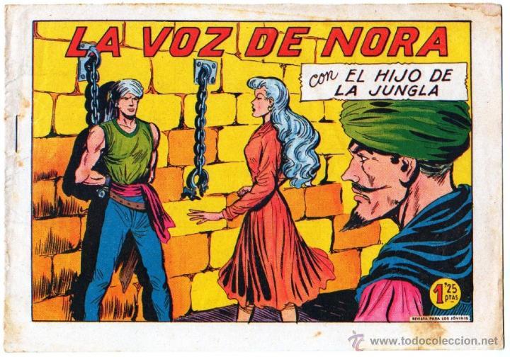 Tebeos: EL HIJO DE LA JUNGLA ORIGINAL EDI. VALENCIANA LOTE DE 21 NºS, VER IMAGENES - Foto 13 - 54698310