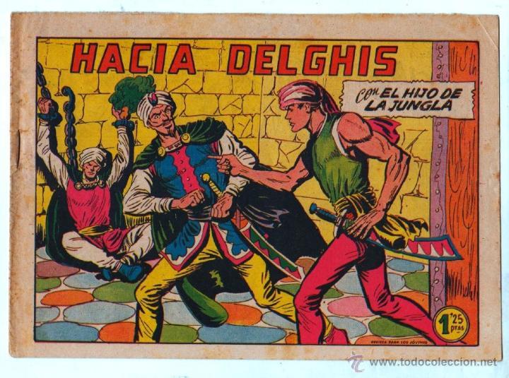 Tebeos: EL HIJO DE LA JUNGLA ORIGINAL EDI. VALENCIANA LOTE DE 21 NºS, VER IMAGENES - Foto 15 - 54698310