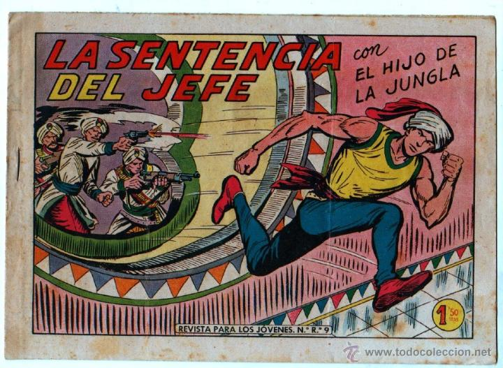 Tebeos: EL HIJO DE LA JUNGLA ORIGINAL EDI. VALENCIANA LOTE DE 21 NºS, VER IMAGENES - Foto 19 - 54698310
