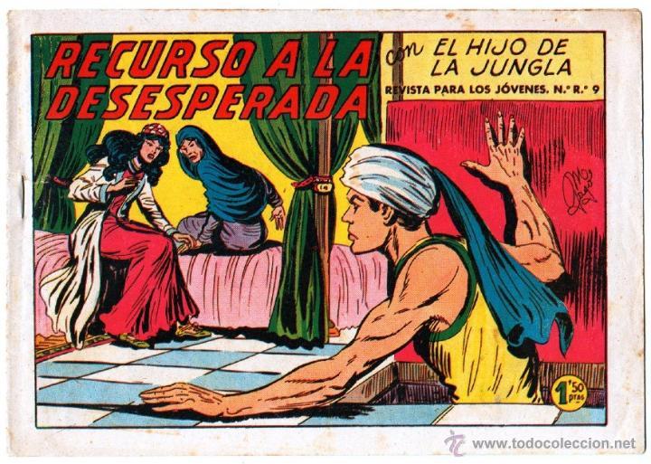 Tebeos: EL HIJO DE LA JUNGLA ORIGINAL EDI. VALENCIANA LOTE DE 21 NºS, VER IMAGENES - Foto 20 - 54698310