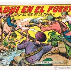 Tebeos: EL HIJO DE LA JUNGLA ORIGINALES NºS - 7,15,19,20,27,30,33 - MAGNÍFICO ESTADO, VER IMAGENES. Lote 54704528