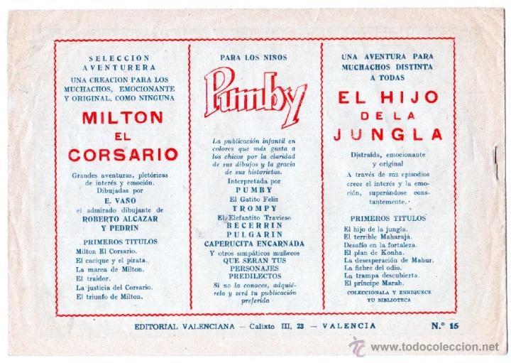 Tebeos: EL HIJO DE LA JUNGLA ORIGINALES NºS - 7,15,19,20,27,30,33 - MAGNÍFICO ESTADO, VER IMAGENES - Foto 4 - 54704528