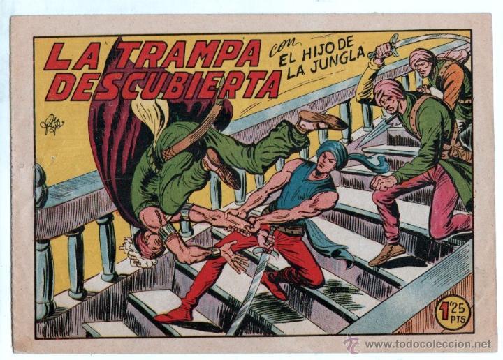 Tebeos: EL HIJO DE LA JUNGLA ORIGINALES NºS - 7,15,19,20,27,30,33 - MAGNÍFICO ESTADO, VER IMAGENES - Foto 5 - 54704528