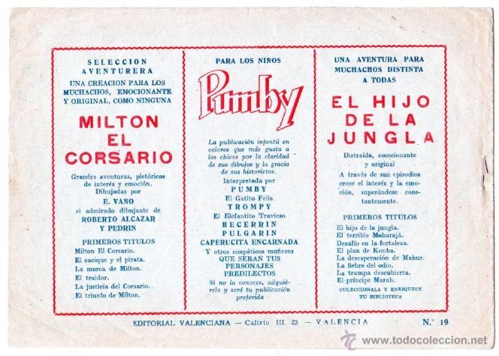 Tebeos: EL HIJO DE LA JUNGLA ORIGINALES NºS - 7,15,19,20,27,30,33 - MAGNÍFICO ESTADO, VER IMAGENES - Foto 6 - 54704528