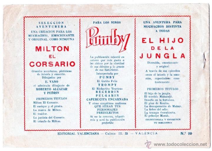 Tebeos: EL HIJO DE LA JUNGLA ORIGINALES NºS - 7,15,19,20,27,30,33 - MAGNÍFICO ESTADO, VER IMAGENES - Foto 8 - 54704528