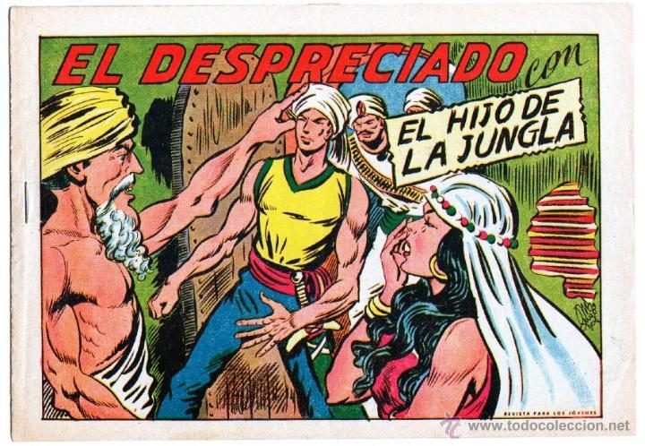 Tebeos: EL HIJO DE LA JUNGLA ORIGINALES NºS - 7,15,19,20,27,30,33 - MAGNÍFICO ESTADO, VER IMAGENES - Foto 9 - 54704528