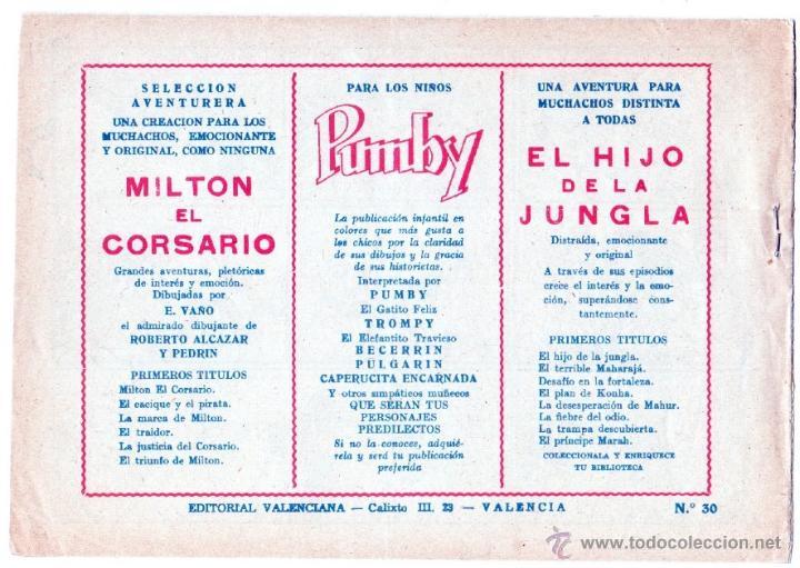 Tebeos: EL HIJO DE LA JUNGLA ORIGINALES NºS - 7,15,19,20,27,30,33 - MAGNÍFICO ESTADO, VER IMAGENES - Foto 12 - 54704528