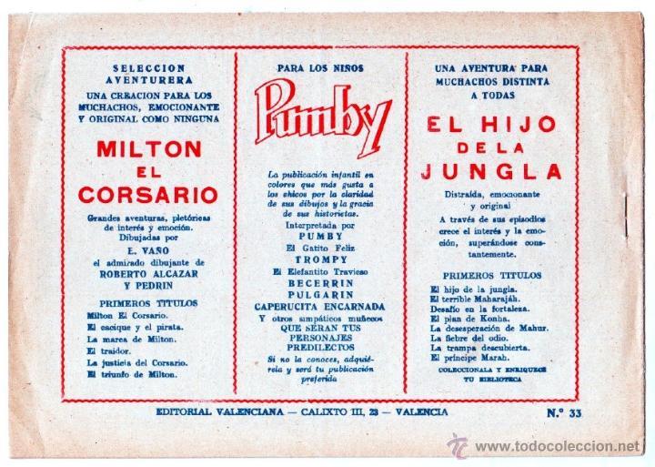 Tebeos: EL HIJO DE LA JUNGLA ORIGINALES NºS - 7,15,19,20,27,30,33 - MAGNÍFICO ESTADO, VER IMAGENES - Foto 14 - 54704528