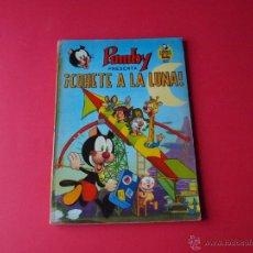 Tebeos: ¡COHETE A LA LUNA! - LIBROS ILUSTRADOS PUMBY Nº 8 - VALENCIANA 1969 - J. SANCHÍS. Lote 54748533