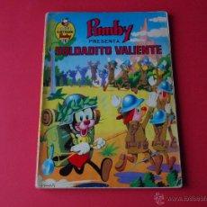 Tebeos - Pumby presenta SOLDADITO VALIENTE - LIBROS ILUSTRADOS PUMBY Nº 26 - VALENCIANA 1970 - J. SANCHÍS - 54749096