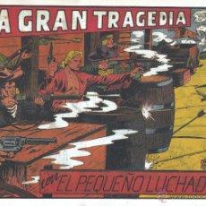 Tebeos: EL PEQUEÑO LUCHADOR 40. DE GAGO, AUTOR DE EL ESPADACHÍN ENMASCARADO, EL GUERRERO DEL ANTIFAZ, PURK. . Lote 54771653