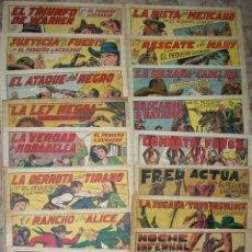 Tebeos: EL PEQUEÑO LUCHADOR (VALENCIANA) GRANDES (LOTE DE 19 NUMEROS DIFERENTES). Lote 54860649