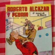 Tebeos: COMIC ROBERTO ALCAZAR Y PEDRIN 2A EPOCA AÑO 1977 EDIVAL NUMERO 221. Lote 54895687