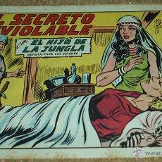 Tebeos: EL HIJO DE LA JUNGLA Nº 10 - VALENCIANA 1956- ORIGINAL. Lote 54921831