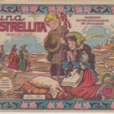 Tebeos: COLECCION CASCABEL LA ESTRELLITA Nº 147 NUMERO EXTRAORDINARIO DE NAVIDAD EDITORIAL VALENCIANA 1958. Lote 54924372