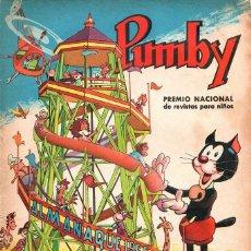 Tebeos: PUMBY ALMANAQUE 1966. Lote 54958430