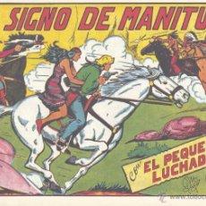 Tebeos: PEQUEÑO LUCHADOR 138. DE GAGO, AUTOR DE EL ESPADACHÍN ENMASCARADO, EL GUERRERO DEL ANTIFAZ, PURK. . Lote 55038179