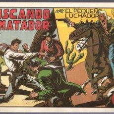 Tebeos: TEBEO BUSCANDO EL MATADOR CON EL PEQUEÑO LUCHADOR. Nº 52. ED. VALENCIANA. Lote 55043529