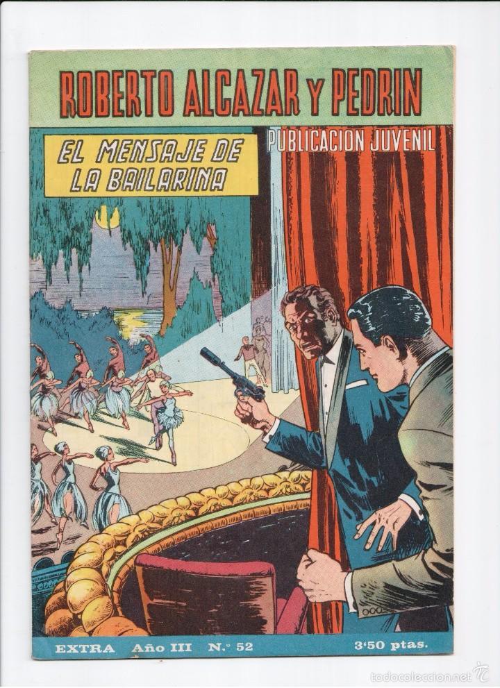 ROBERTO ALCAZAR EXTRA Nº 52 VALENCIANA 1965 (Tebeos y Comics - Valenciana - Roberto Alcázar y Pedrín)