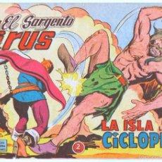 Tebeos: EL SARGENTO VIRUS ORIGINAL Nº 10 EDI. VALENCIANA 1962. Lote 55296938