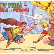 Tebeos: REY FURIA ORIGINAL Nº 9 HOJAS SIN ABRIR EN UN SOLO PLIEGO - 1961 VALENCIANA. Lote 55297554