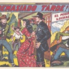 Tebeos: PEQUEÑO LUCHADOR 152. DE GAGO, AUTOR DE EL ESPADACHÍN ENMASCARADO, EL GUERRERO DEL ANTIFAZ, PURK. . Lote 55323930