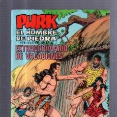 Tebeos: TEBEO PURK EL HOMBRE DE PIEDRA. EXTRAORDINARIO DE VACACIONES. SELECCION EDIVAL AVENTURERA. Lote 55871065