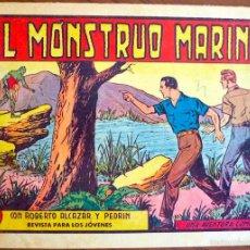 Tebeos: EL MONSTRUO MARINO (ORIGINAL 1,50 PTAS.) ROBERTO ALCAZAR Y PEDRIN Nº 380 VALENCIANA. Lote 55936020