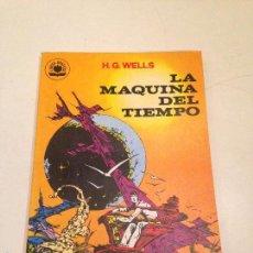 Tebeos: LIBROS GRAFICOS Nº 2. LA MAQUINA DEL TIEMPO H G WELLS. EDIPRINT VALENCIANA 1982. ALEX NIÑO. Lote 56011043