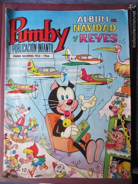 PUMBY-ALBUM NAVIDAD Y REYES 1969- ORIGINAL- ESCASO (Tebeos y Comics - Valenciana - Pumby)