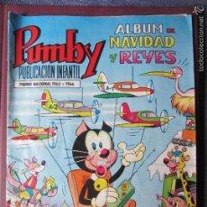 Tebeos: PUMBY-ALBUM NAVIDAD Y REYES 1969- ORIGINAL- ESCASO. Lote 56076399