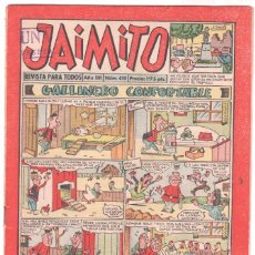 Tebeos: JAIMITO Nº 430 EDI. VALENCIANA 1958 ORIGINAL. Lote 56157922