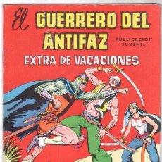 Tebeos: EL GUERRERO DEL ANTIFAZ EXTRA DE VACACIONES 1977. Lote 56173315
