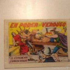 Tebeos: EL ESPADACHÍN ENMASCARADO -EN EL PODER DEL VERDUGO 1981. Lote 56191255