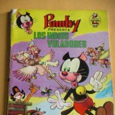 Tebeos: LIBROS ILUSTRADOS PUMBY, Nº 10, LOS INDIOS VOLADORES, ED. VALENCIANA, B3. Lote 56300292