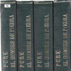 Tebeos: PURK EL HOMBRE DE PIEDRA 76 NUMEROS+ ALMANAQUE 1976+AXTRA VACACIONES Y EXTRA NAVIDAD COMPLETA EDIVAI. Lote 56308201