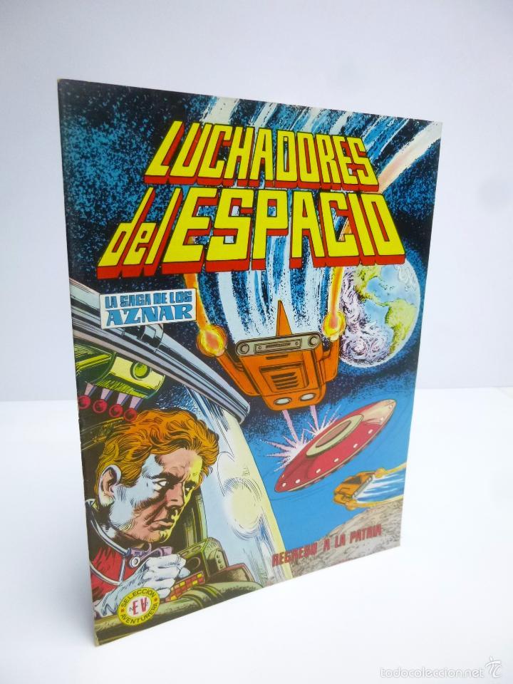 LUCHADORES DEL ESPACIO 8 SELEC AVENTURERA. SAGA DE LOS AZNAR (GEORGE H. WHITE) VALENCIANA 1974 OFRT (Tebeos y Comics - Valenciana - Colosos del Comic)