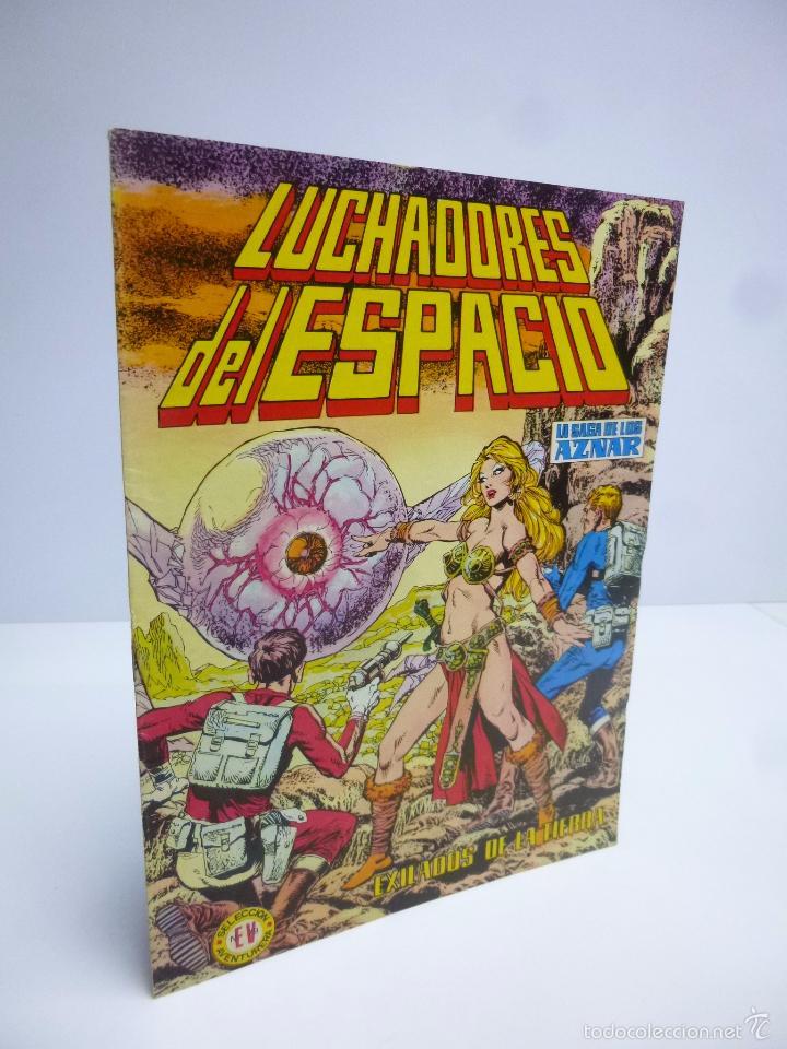 LUCHADORES DEL ESPACIO 11 SELEC AVENTURERA. SAGA DE LOS AZNAR (GEORGE H. WHITE)VALENCIANA 1974 OFRT (Tebeos y Comics - Valenciana - Colosos del Comic)