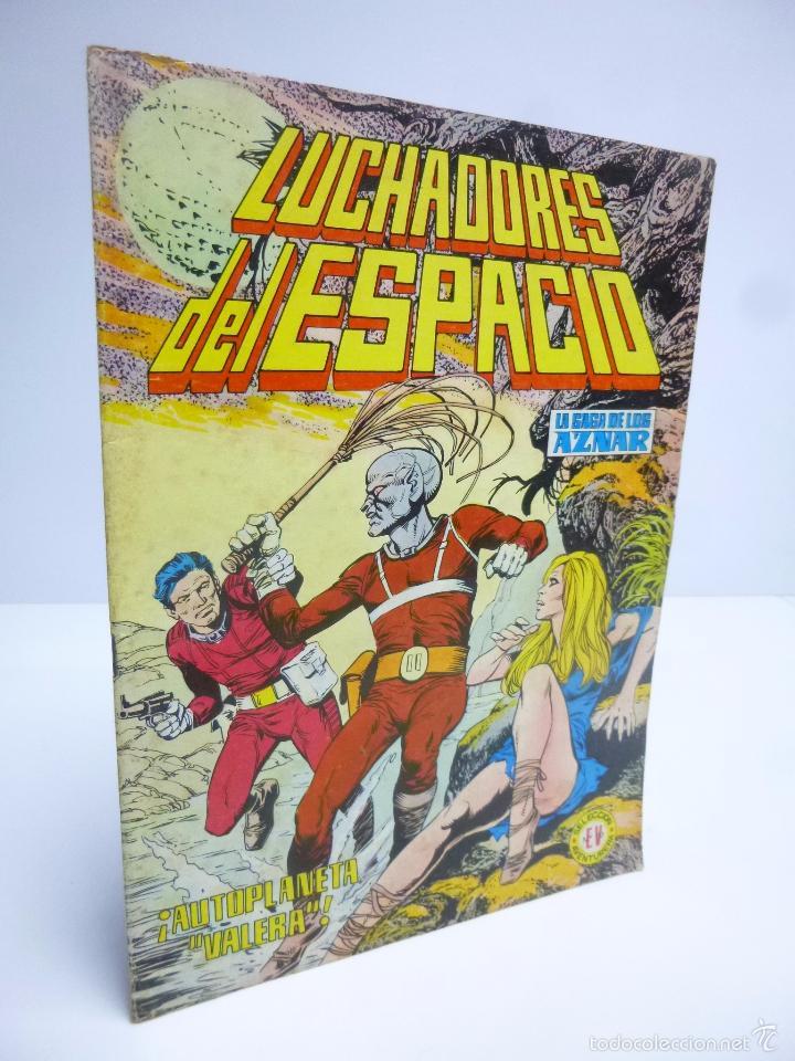 LUCHADORES DEL ESPACIO 15 SELEC AVENTURERA. SAGA DE LOS AZNAR (GEORGE H. WHITE) VALENCIANA 1974 OFRT (Tebeos y Comics - Valenciana - Colosos del Comic)