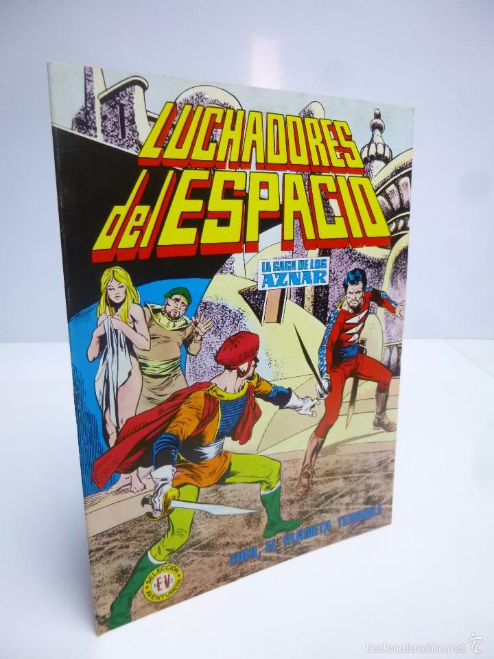LUCHADORES DEL ESPACIO 20 SELEC AVENTURERA. SAGA DE LOS AZNAR (GEORGE H. WHITE) VALENCIANA 1974 OFRT (Tebeos y Comics - Valenciana - Colosos del Comic)
