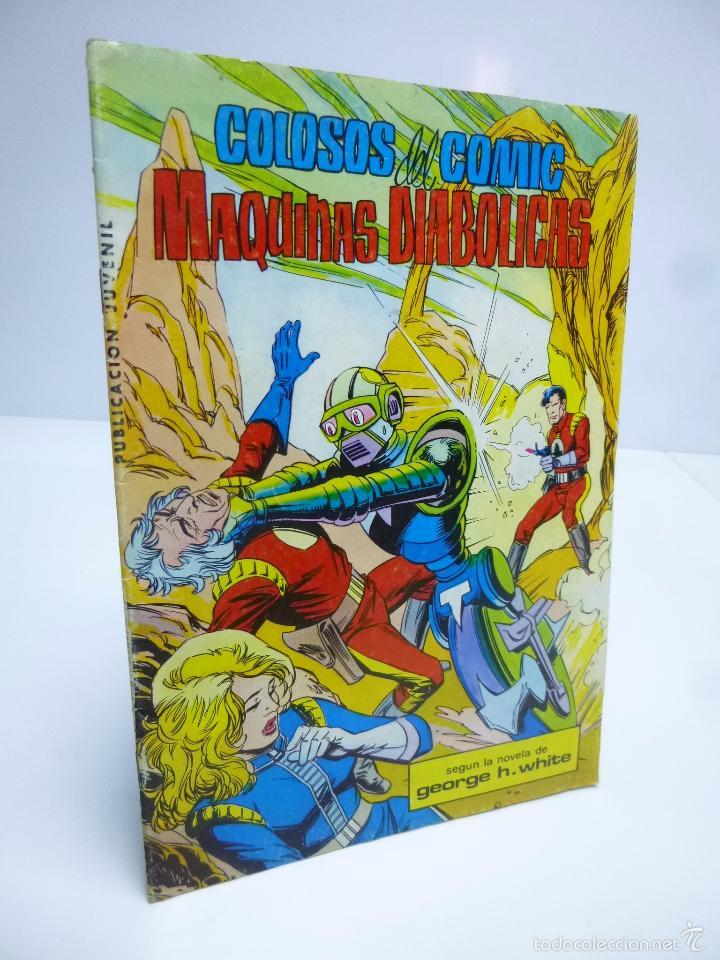 COLOSOS DEL COMIC LUCHADORES DEL ESPACIO Nº 3 SAGA DE LOS AZNAR (GEORGE H. WHITE) 1980 OFRT (Tebeos y Comics - Valenciana - Colosos del Comic)