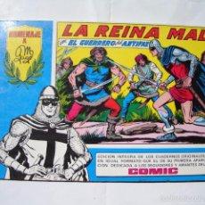 Tebeos: SERIE AZUL Nº 43 LA REINA MALA.GUERRERO DEL ANTIFAZ.HOMENAJE A MANUEL GAGO.ED. VALENCIANA.AÑO 1981. Lote 56531573