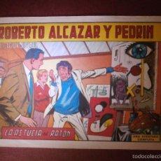 Tebeos: COMIC - ROBERTO ALCAZAR Y PEDRIN -VALENCIANA - Nº 871 - LA ASTUCIA DEL RATÓN - 1969 - ORIGINAL -. Lote 56608414