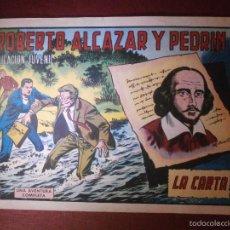 Tebeos: COMIC - ROBERTO ALCAZAR Y PEDRIN -VALENCIANA - Nº 971 - LA CARTA - 1971 - ORIGINAL -. Lote 56608444