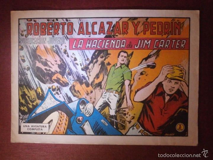COMIC - ROBERTO ALCAZAR Y PEDRIN -VALENCIANA - Nº 959 - LA HACIENDA DE JIM CARTER - 1971 - ORIGINAL (Tebeos y Comics - Valenciana - Roberto Alcázar y Pedrín)