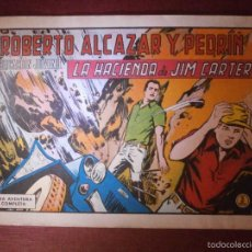 Tebeos: COMIC - ROBERTO ALCAZAR Y PEDRIN -VALENCIANA - Nº 959 - LA HACIENDA DE JIM CARTER - 1971 - ORIGINAL. Lote 56608523
