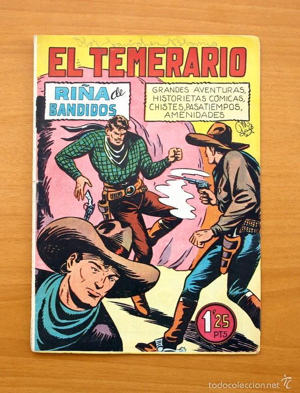 EL TEMERARIO, Nº 13 - EDITORIAL VALENCIANA 1950 (Tebeos y Comics - Valenciana - Otros)
