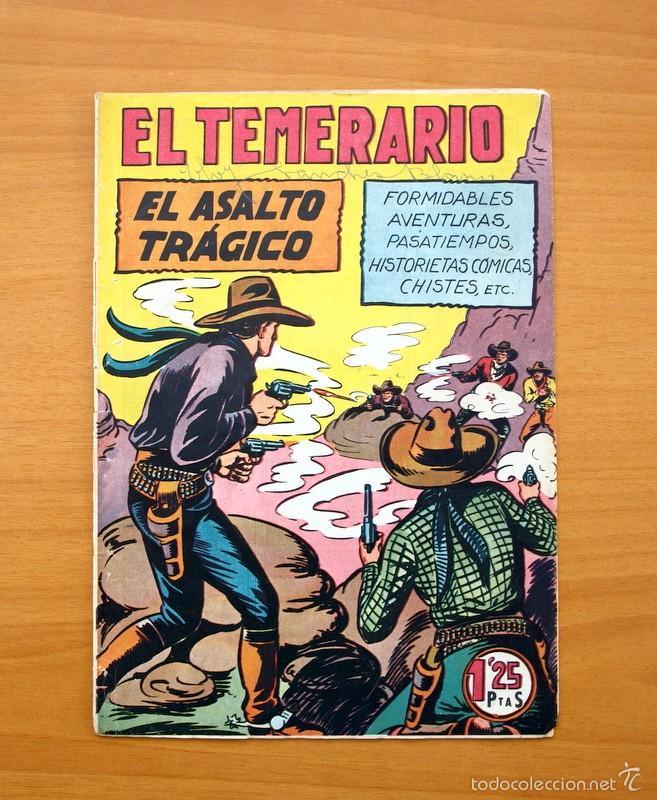 EL TEMERARIO, Nº 14 - EDITORIAL VALENCIANA 1950 (Tebeos y Comics - Valenciana - Otros)
